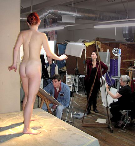 naked model art school